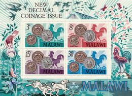 MALAWI - New Decimal Coinage Issue, Pièces De Monnaie - BF, Tb N° 22-25 - 1965 - MNH - Malawi (1964-...)