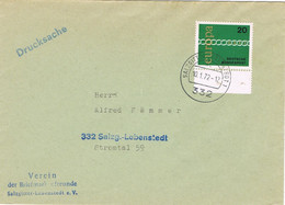 42097. Carta Impresos Drucksache SALZGITTER - LEBENSTEDT (Alemania Federal) 1972. Tema EUROPA - Brieven En Documenten