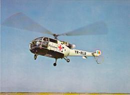 99414- IAR 316 ALOUETTE III, HELICOPTER, AVIATION, TRANSPORTS - Helicópteros