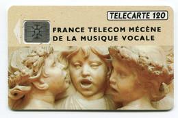 Telecarte °_ France 120u-292-Musique Vocale-Sc4an.Ge-10.92- R/V 4861 - 120 Unità