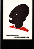 """""""Comment Mange T'on En Afrique Noire"""" D'après Un Dessin De Hove Années 70' Laboratoires Thérica - Andere"""