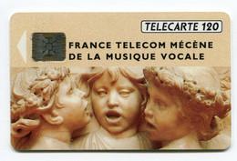 Telecarte °_ France 120u-292.A-Musique Vocale-Sc5an.Ge-10.92- R/V 4661 - 120 Unità