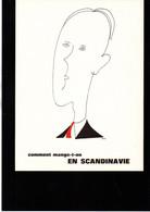 """""""Comment Mange T'on En Scandinavie"""" D'après Un Dessin De Hove Années 70' Laboratoires Thérica - Andere"""