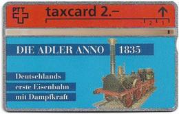 Switzerland - Swisscom (L&G) - K Series - K-93-31 - Die Adler Anno 1835 - 302L - 02.1993, 2Fr, 10.000ex, Used - Schweiz