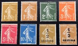 N° 277A   A   279B       NEUF ** SANS CHARNIÈRE   ( LOT:12074) - 1906-38 Sower - Cameo