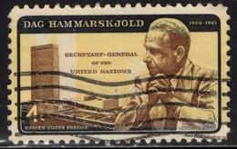 1962 4 Cents Hammarskjold, UN, ERROR, Used - Used Stamps