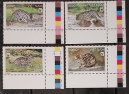 (WWF-456) W.W.F. Vietnam Viet Nam MNH Perf Stamps 2010 : Fishing Cat - Vietnam