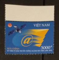Vietnam Viet Nam MNH Perf Stamp 2015 : 70th Anniversary Of Vietnamese Post Office (Ms1058) - Vietnam