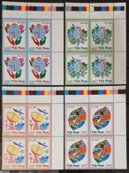 Blocks 4 Of Vietnam Viet Nam MNH Perf Stamps 2015 : CLIMATE CHANGE (Ms1059) - Vietnam