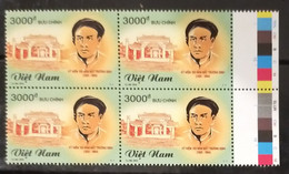 Block 4 Of Vietnam Viet Nam MNH Perf Stamps 2014 : 150th Death Anniversary Of Truong Cong Dinh (Ms1050) - Vietnam