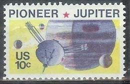 1975 10 Cents Space Jupiter Pioneer 10 Mint Never Hinged - Ungebraucht