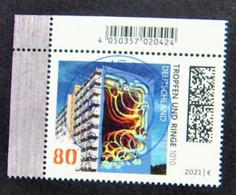 "Bund/BRD Oktober 2021 Sondermarke ""Street Art (I)"" MiNr 3633, Ecke 1, Ersttagsgestempelt - Usati"