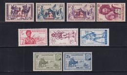MAURITANIE - ANNEE COMPLETE 1941 - YVERT N°116/124 * MH - COTE 2022 = 49.25 EUROS - - Unused Stamps