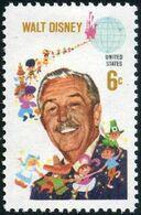 1968 6 Cents Walt Disney, Mint Never Hinged - Unused Stamps