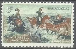 1964 5 Cents Russell Painting Mint Never Hinged - Unused Stamps