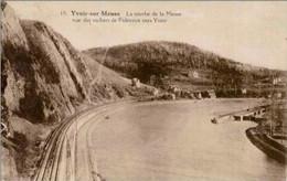 YVOIR - La Courbe De La Meuse Vue Des Rochers De Fidevoye Vers Yvoir - Oblitération De 1928 - Yvoir