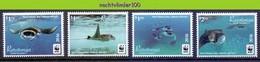 Nfa001s WWF FAUNA 'VISSEN FISH FISCHE' ROG REEF MANTA RAY MARINE LIFE RARATONGA 2016 PF/MNH - Unused Stamps