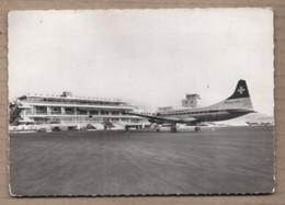 CPSM 06 - NICE - AEROPORT De NICE COTE D'AZUR - L'Aire De Stationnement - TB AEROGARE + GROS PLAN AVION SWISSAIR - Aeródromos