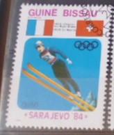 GUINEE BISSAU -  Jeux Olympiques D'hiver - Sarajevo 84 -  Saut à Ski - Invierno 1984: Sarajevo