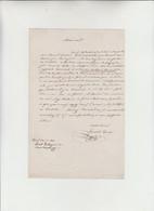 Ernesto Rossi, - Livorno 1827  Pescara 1896 - Celebre Attore Teatrale, Firma Autografa Su Lettera Da Parigi  1866 - Autographes