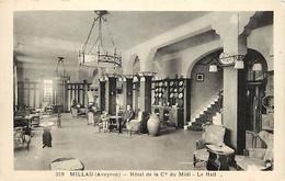 - Aveyron -ref-A506- Millau - Hotel Dela Cie Du Midi - Le Hall - Hôtels - - Millau