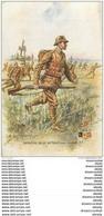 """WW Série L.V.C Par Léon Hingre 1915. Edition """" Le Gaulois """" Bergougnan. INFANTERIE BELGE Tenue Avec Casque - Regimenten"""