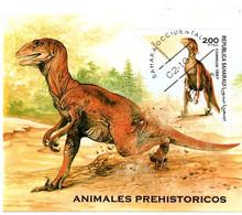Bloc Dinosaure Sahara 1997 - Préhistorique Préhistoire - Preistorici