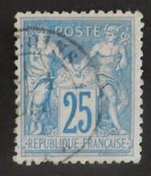 FRANCE TYPE SAGE YT 78 OBLITERE ANNEES 1876/1878 - 1876-1898 Sage (Tipo II)