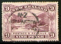 NUEVA ZELANDA Sello Usado TERRAZAS ROSAS DE ROTOMAHANA 1898 - Used Stamps