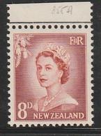 NOUVELLE ZELANDE - N°355A ** (1956-59) Série Courante - Unused Stamps