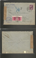 AUSTRIA. 1946 (6 Aug) Wien Local Usage. Soviet Occupation After WWII Period. Fkd + Taxed Envelope. VF Usage. - Ohne Zuordnung