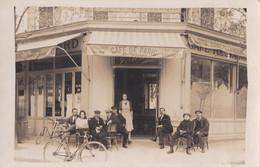 CAFÉ DE PARIS - Carte Photo Café De Paris Maison GEORGES à Situer - Caffé