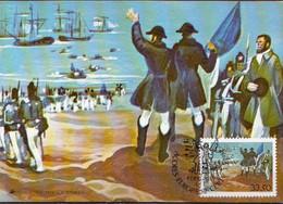 Azores Stamp On Maximum Card - 1982