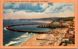 California Long Beach Rainbow Pier And Auditorium 1949 - Long Beach