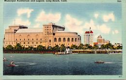 California Long Beach Municipal Auditorium And Lagoon - Long Beach