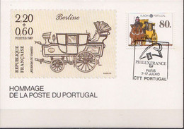 Portugal Stamp On Maximum Card - 1988
