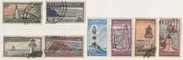 NOUVELLE ZELANDE - SERVICE  N°107/113 Obl (1947-63) Phares - Officials