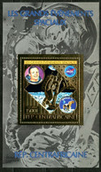 1980 Central African Republic 670/B78 Gold Neil Armstrong Moon Landing 50,00 € - Africa