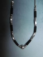 Collier En Argent Massif - Halsketten