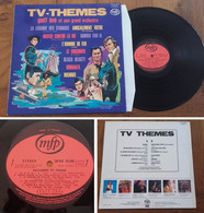 "RARE French LP 33t RPM (12"") BO TV ""TV THEMES"" (Geoff Love, 1974) - Soundtracks, Film Music"