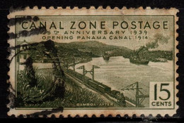 S010L - CANAL ZONE, 1939 - SC#: 131 - USED - GAMBOA-AFTER - Kanalzone