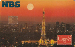 USA - The Eiffel Tower, Cartes 95, Chip Siemens 35, NBS Demo Card - [2] Chip Cards