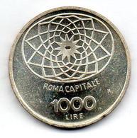 ITALIA, 1.000 Lire, Silver, Year 1970, KM #101 - 1 000 Lire