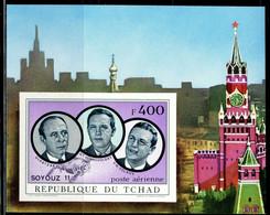 1972 Chad 457/B32b Soyuz 11 - Cosmonauts 25,00 € - Africa