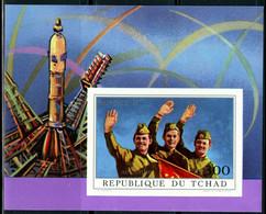 1972 Chad 456/B31b Soyuz 11 - Cosmonauts 20,00 € - Africa