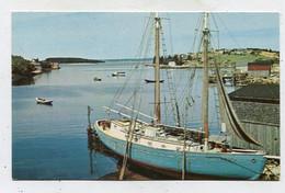 AK 03725 CANADA - Nova Scotia - Fishing Schooner At Hackets Cove - Halifax