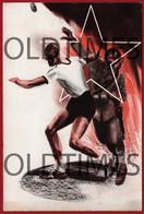 ITALY - GIOVENTU ITALIANA DEL LITTORIO - 1º CAMPO PER ATLETI - LANCIO DEL DISCO - 1941 ART SIGNED POSTCARD - Reggio Calabria