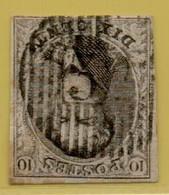 MW-5404   Ocb 6       D 32  MALDEGHEM - 1851-1857 Médaillons (6/8)