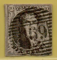 MW-5408   Ocb 6       P 169   TEMPLEUVE - 1851-1857 Médaillons (6/8)