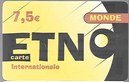 CARTE--PREPAYEE-ETOILE TELECOM-ETNO-7,5€-MONDE-V°Exp 31/12/2011-Gratté-Plastic Fin Glacé-BE/RARE - Altre Schede Prepagate